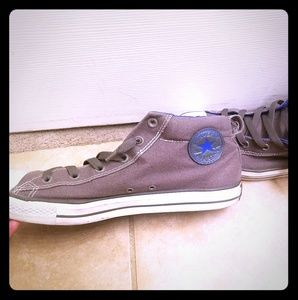 Mens mid top converse